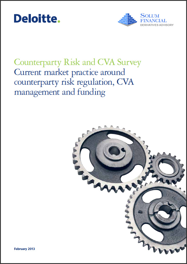 Counterparty Risk and CVA Survey - February 2013 Solum Financial White Paper