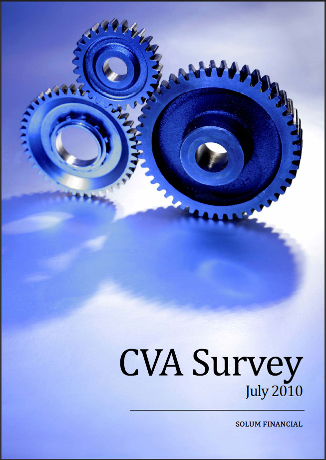 CVA Survey July 2010 - Solum Financial